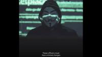 Anonymous est un mouvement anonyme de pirates du web.