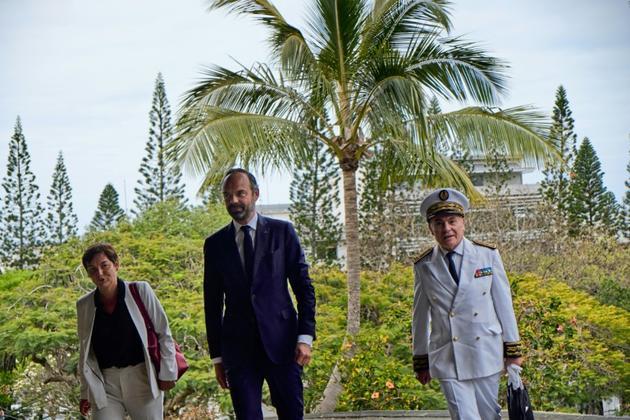 Le Premier ministre Edouard Philippe à Nouméa, en Nouvelle-Calédonie, le 5 novembre 2018 [Theo Rouby / AFP/Archives]