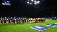 La rencontre entre l'Atalanta Bergame et le FC Valence s'est tenue à San Siro devant plus de 45 000 spectateurs.