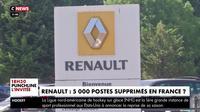 Renault : 5.000 postes supprimés en France ?