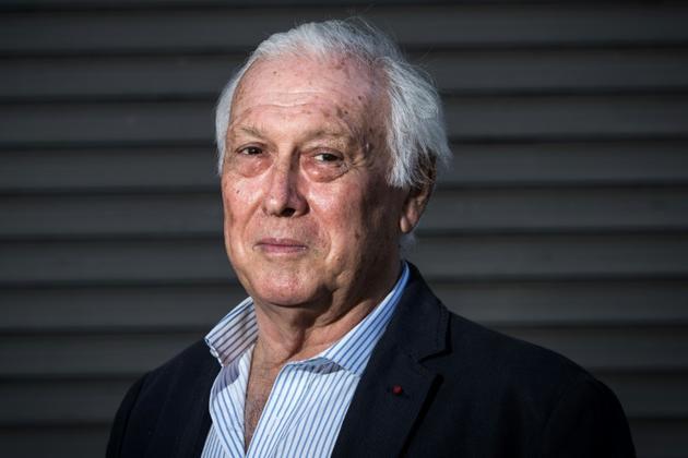 Le Pr Jean-François Delfraissy, président du Conseil scientifique, le 26 avril 2020 à Paris [JOEL SAGET / AFP/Archives]
