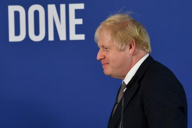 Le Premier ministre britannique Boris Johnson, le 29 novembre 2019 à Londres [Ben STANSALL / AFP/Archives]