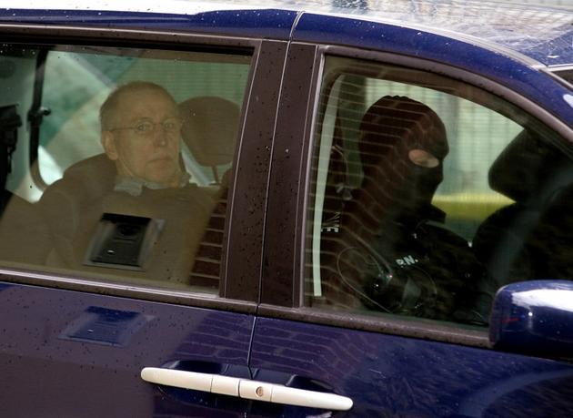 Michel Fourniret le 29 mai 2008, à Charleville-Mézières (Ardennes) [ALAIN JULIEN / AFP/Archives]
