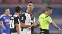 Cristiano Ronaldo a encore été très discret en finale de la Coupe d'Italie.
