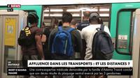 Affluence dans les transports : et les distances ?