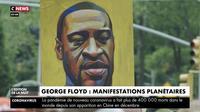 Meurtre de George Floyd : manifestations planétaires contre le racisme et les violences policières