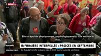 Infirmière interpellée : rassemblement de soutien à Paris