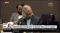 Commission d'enquête : le grand oral de Didier Raoult