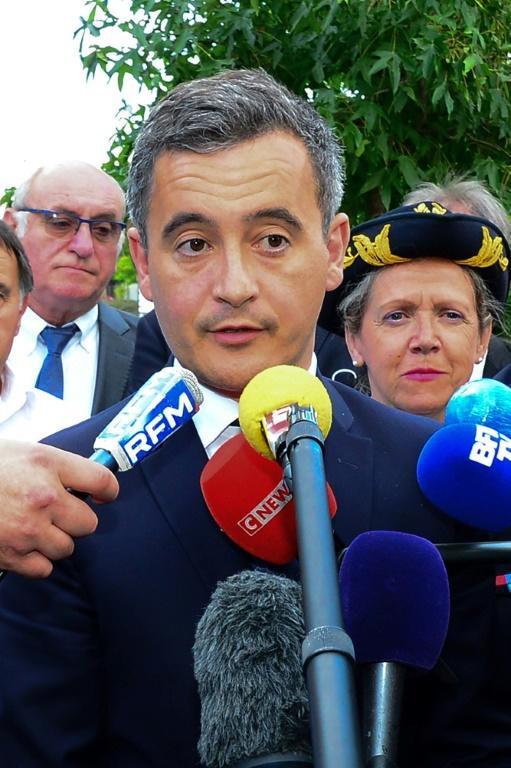 Le ministre de l'Intérieur Gerald Darmanin, à Port-Sainte-Marie (Lot-et-Garonne) le 7 juillet 2020 [MEHDI FEDOUACH / POOL/AFP]