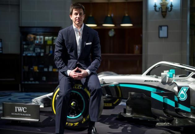 Le directeur exécutif de Mercedes, Toto Wolff, à Londres, le 10 février 2020 [Tolga AKMEN / AFP/Archives]