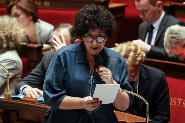 Frédérique Vidal, ministre de l'Enseignement supérieur, de la recherche et de l'innovation, à l'Assemblée nationale, le 25 février 2020 à Paris [Ludovic Marin / AFP/Archives]