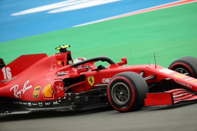 Le Monégasque Charles Leclerc (Ferrari) lors des qualifications du GP de Belgique, le 29 août 2020 à Spa-Francorchamps  [Francisco Seco / POOL/AFP]