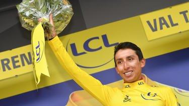 Le Colombien Egan Bernal a remporté le Tour de France en 2019.