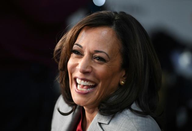 Kamala Harris à Atlanta le 20 novembre 2019 [SAUL LOEB / AFP]