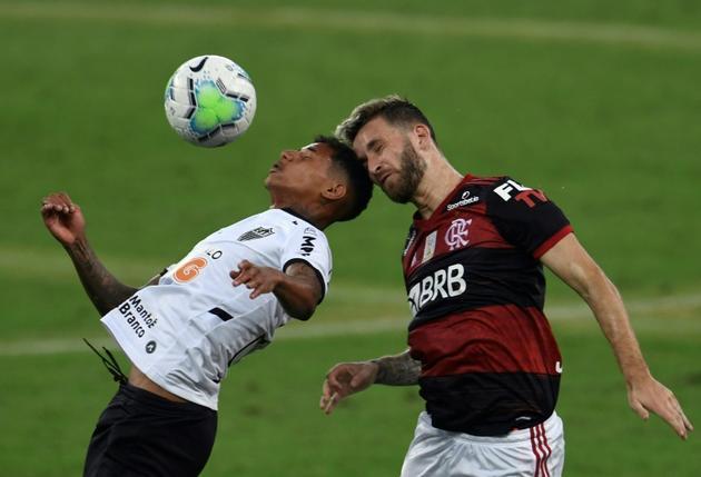 Première journée de championnat brésilien de football au stade Maracana à Rio de Janeiro, Brésil, le 9 août 2020 [Mauro PIMENTEL / AFP]