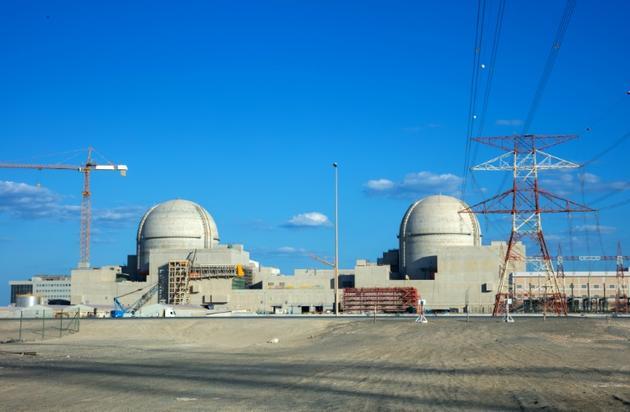 La centrale nucléaire de Barakah, aux Emirats arabes unis, le 12 novembre 2019 [- / Barakah Nuclear Power Plant/AFP/Archives]