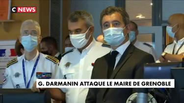 Insécurité : Gérald Darmanin attaque le maire de Grenoble