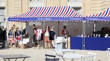 La boutique éphémère de l'Elysée crée chaque année l'évènement des Journées Européennes du Patrimoine