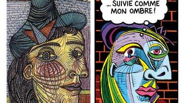 Pablo Picasso aimait la BD qui elle-même le lui rend bien