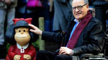 Le caricaturiste argentin Quino refuse la récupération de son personnage culte, Mafalda.
