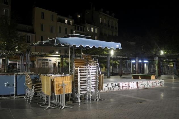 Terrasses fermées et restaurants à Marseille le 27 septembre 2020 [NICOLAS TUCAT / AFP/Archives]