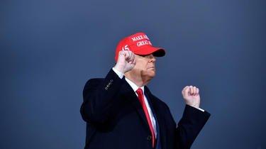 Donald Trump continue de croire en sa victoire