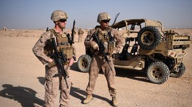 La guerre en Afghanistan qui a fait plus de 100.000 victimes civiles, tués et blessés, sur la seule période 2009-2019, selon les Nations unies.