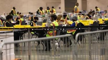 Près d'un million de votes par correspondance restent à traiter, rendant l'issue de l'élection en Pennsylvanie plus qu'incertain.