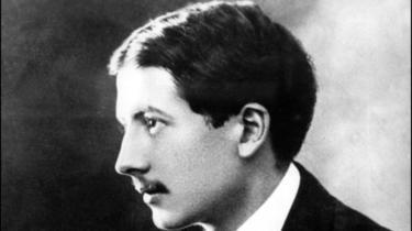 """photo non datée de l'écrivain Alain Fournier, auteur du roman """"Le grand Meaulnes"""", disparu au front lors de la Première Guerre mondiale le 22 septembre 1914 [ / ARCHIVES/AFP/Archives]"""