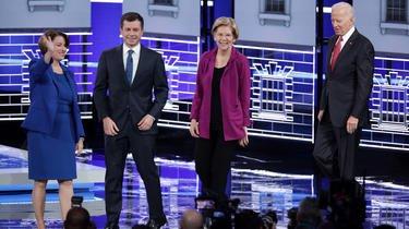 Opposants lors de la dernière primaire démocrate, ces quatre là pourraient vite se retrouver