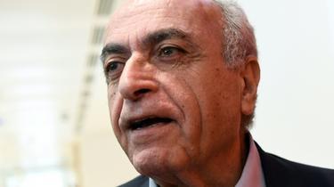 Ziad Takieddine à Paris le 7 octobre 2019 [Bertrand GUAY / AFP/Archives]