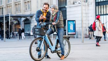 Le service permet de louer un deux-roues pendant six mois à neuf mois, moyennant 40 euros.