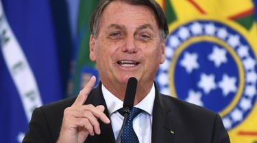 Le président brésilien Jair Bolsonaro ne cache pas sa méfiance envers les vaccins.