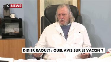 «Si on s'amusait à faire ce vaccin obligatoire, vous auriez une révolution», estime Didier Raoult