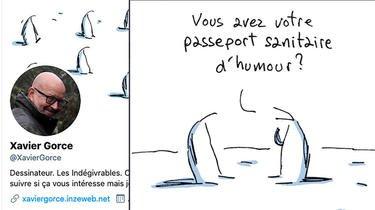 Xavier Gorce est dessinateur de presse, notamment des fameux «Indégivrables»
