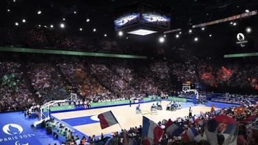 L'Arena Bercy accueillera à la fois les épreuves de basket des Jeux olympiques et celles deux Jeux paralympiques.