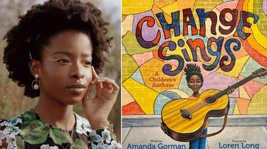 «Change Sings» d'Amanda Gorman devrait paraître le 22 septembre 2022 chez Glénat Jeunesse