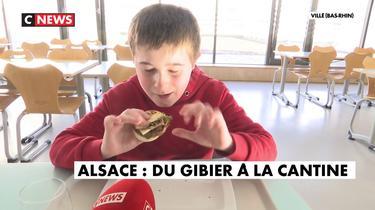 Alsace : du gibier dans les cantines scolaires