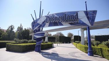 Le parc-phare de Disney, à Anaheim, en Californie, est fermé depuis la mi-mars.