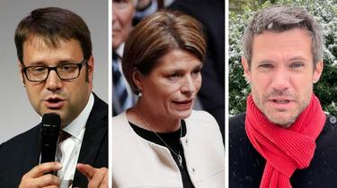 Loïg Chesnais-Girard (PS), Isabelle Le Callennec (LR) et Pierre Karleskind (LREM) font partie des «gros» candidats à la présidence de la région Bretagne.