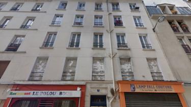 L'immeuble du 7 rue Jean Robert dans le 18e, désormais confisqué et scellé, dans l'attente de la condamnation ou non de son propriétaire.