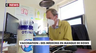 Vaccin : des médecins manquent de doses.
