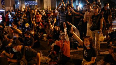 Le mouvement pro-démocratie thaïlandais est l'un des rares à avoir pris en ampleur en 2020
