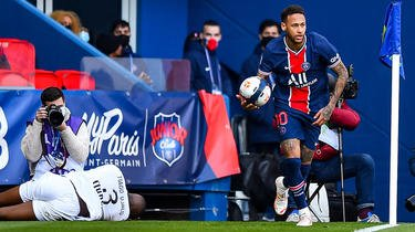 Neymar avait eu une altercation avec Tiago Djalo en fin de rencontre.
