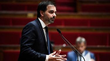 Laurent Saint-Martin, candidat LREM aux régionales en Ile-de-France.