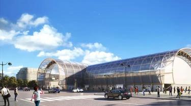 Le Grand Palais éphémère ouvrira ses portes début 2021.