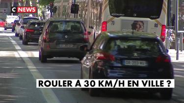 Rouler à 30km/h en ville ?