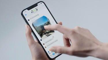 L'application Messages permettra de partager plus facilement ses photos notamment.