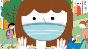 Même masqués, les enfants sont encore plein de questionnements