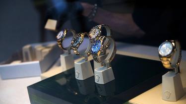 Les montres de luxe sont faciles à écouler sur Internet.